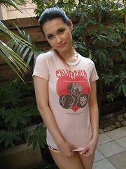 Turned on Maria Ozawa gives head at home